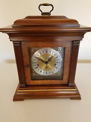 Howard Miller 612-436 Thomas Tompion Mantel Clock W/Key