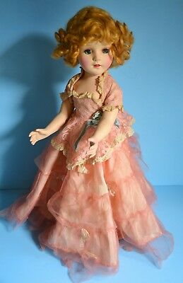 VINTAGE 1950s SWEET SUE DOLL by American Character in Original COTILLION Gown