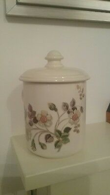 Marks & Spencer Autumn Leaves Lidded Storage Jar with Seal