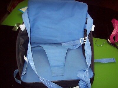 The First Years Portable Compact Booster Seat,  self-inflates.