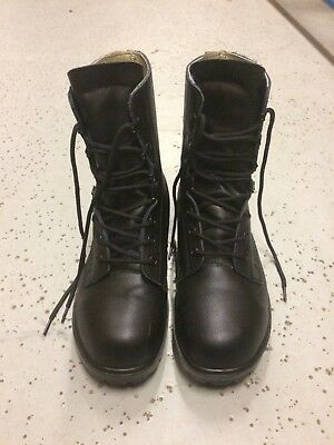 Army DMS Combat Patrol Boots Black - Cadets, Hiking, Police, Emergency Services.