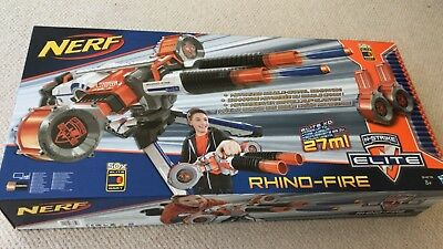 2X Nerf N-Strike Rhino Fire Elite Blaster! Brand New Unopened Nerf Guns