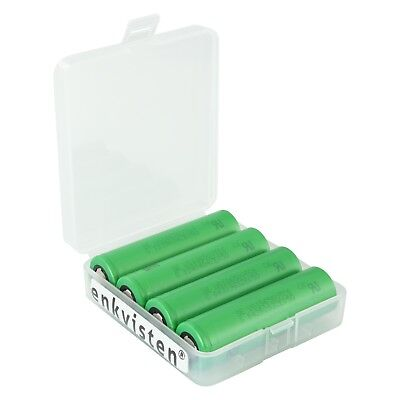 Set 4x Sony Konion US18650 VTC6, 3000mAh, 30A, Li-Ion Akku Typ 18650 Akkubox