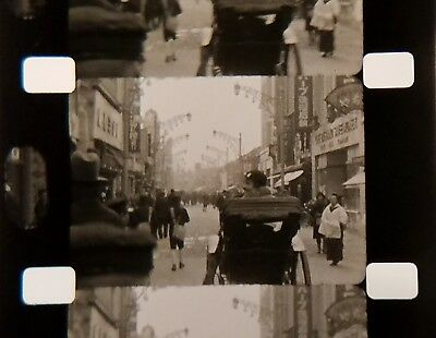 Old 16mm Home Movie ~ 1930 Cruise to Japan & China - Great Wall of China