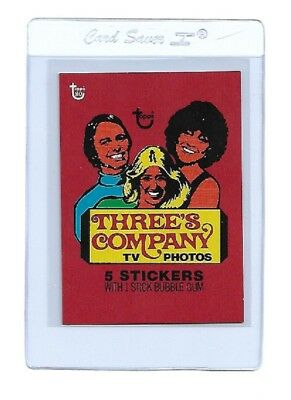 2018 Topps 80th Anniversary Wrapper Art Card #11Threes Company SOLD OUT!