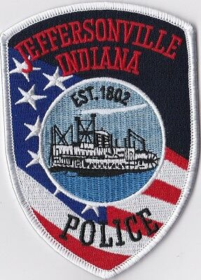Jeffersonville Police IN Indiana Police patch