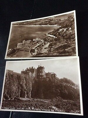 2 Postcards Of Culzean Castle