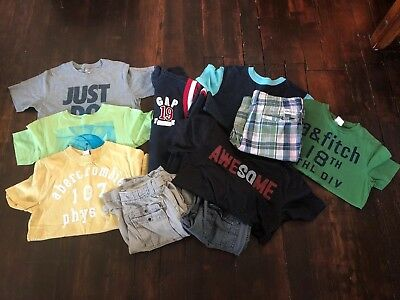 Boys Clothing Lot. Size 10/12 Or Medium. Nike, Gap, Old Navy & Abercrombie.