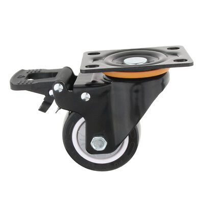 """3"""" Heavy Duty Top Plate Swivel Caster Wheel Roller Chair Table Replacement"""