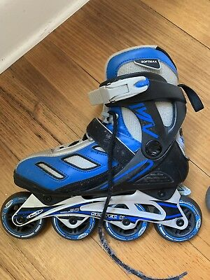 Size US 5 Softec Blade-X Roller Blades, Oakleigh South