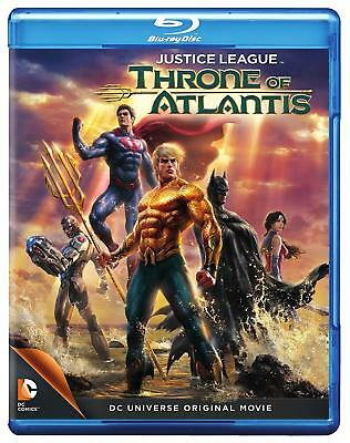 Justice League: Throne of Atlantis Blu-ray Only Disc Please Read