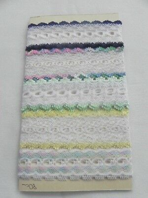 Card of New Knit Lace - Mix 2