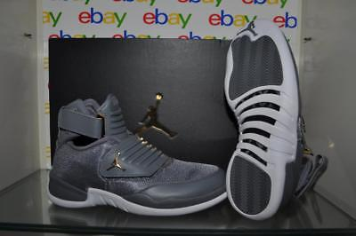 51f468382c4 Nike Air Jordan Generation 23 Mens Basketball Shoes Cool Grey White-Gold NIB