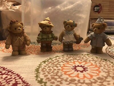 Wizard Of Oz Cherished Teddies PLUS Bonus Limited Edition Holiday Collectible