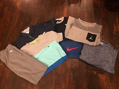 Boys Clothing Lot Size Medium. 10/12.