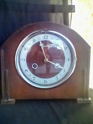 Vintage Antique Bentimo Clock Mantle