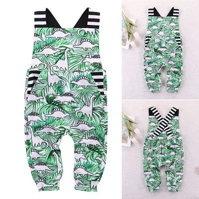 Summer Newborn Infant Girl Boy Outfit Clothes Baby Bodysuit Romper Jumpsuit -