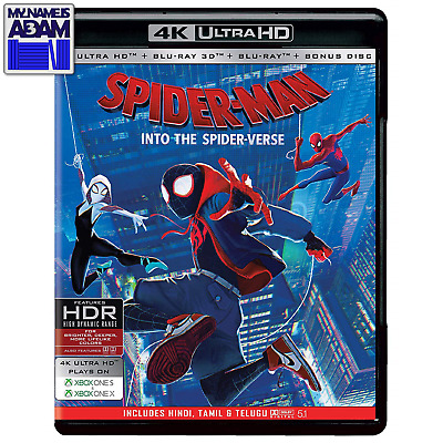 Spider-Man: Into The Spider-Verse 4K + 3D + 2D (Region Free) Pre-Order