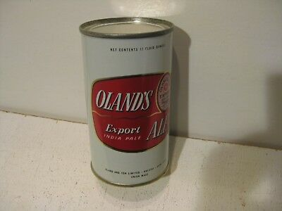 """Oland""""s Export  Ale Flat Top Beer can Olanda and Son Lit. Halifax Canada"""