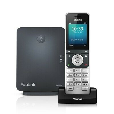 Yealink W60P Wireless DECT Solution Include W60B Base Station & 1x W56H Handset
