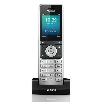 Yealink W56H Cordless DECT IP Phone Handset -For use with W60P IP-DECT Phone