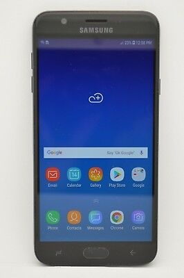Samsung Galaxy J7 (2018) SM-J737A 16GB Black GSM UNLOCKED AT&T TMOBILE METRO PCS