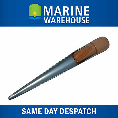 Splicing Fid 180mm Stainless Steel W/ Varnished Timber Handle - Rope Wire 106341