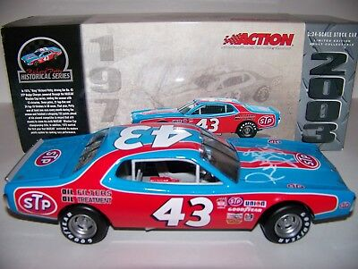 RICHARD PETTY *signed* RCCA ACTION 1975 CHAMPIONSHIP STP DODGE CHARGER 1/24