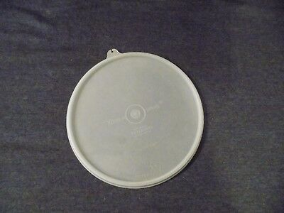 Vintage Tupperware #229 Sheer Clear Round Replacement ~ Lid Only