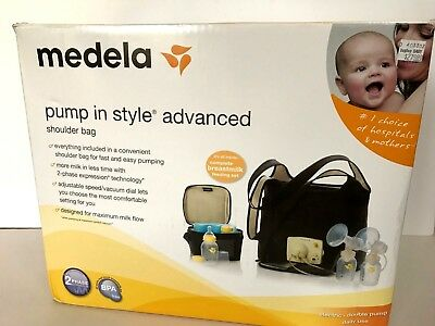 """Medela 'Pump in Style' Advanced Double Breast Pump in """"On the Go"""" Tote Bag NR"""