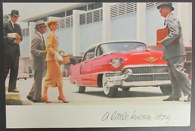 1956 A little known story Brochure - Cadillac