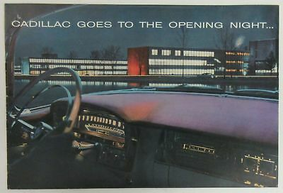 1956 Cadillac Goes to the Opening Night Brochure
