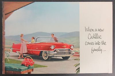 1956 When a new Cadillac comes into the family Brochure