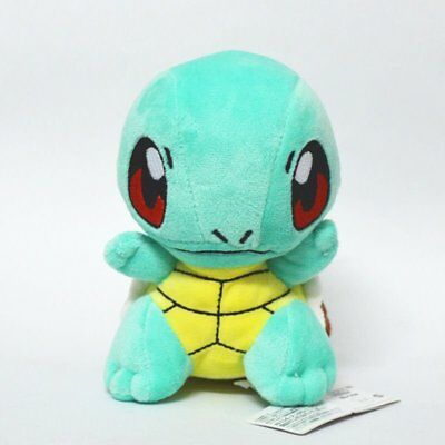 SQUIRTLE Stuffed Soft Plush Toys Doll figure Xmas Kids Gift Pokemon Christmas