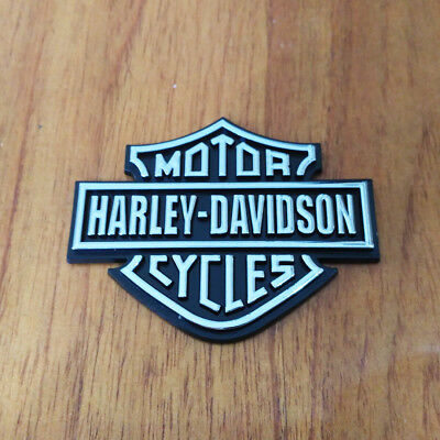 3D Shield Emblem / Medallion / Decal For Harley Davidson Tank / Body / Trunk