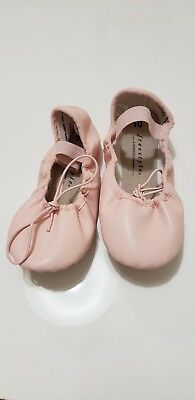 Girls Ballerina Ballet Pink Shoes Size 10 by Freestyle a Danskin Co