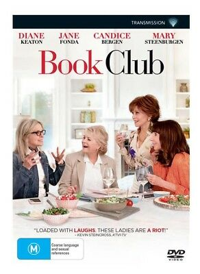 Book Club DVD 2018 New & Sealed