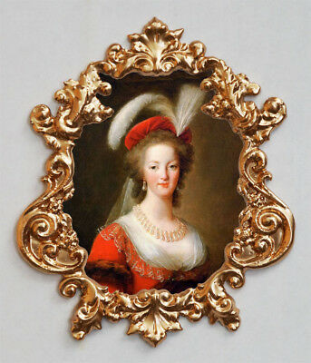 Marie Antoinette-(red). Applique,Furniture mount/decor,Faux ormolu.
