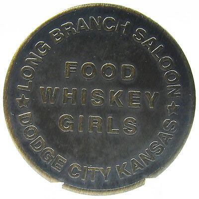 Brothel Token Long Branch Saloon Dodge City Kansas Funny Gag Gift Free USA Ship
