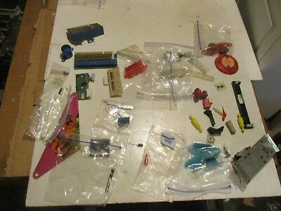 Lot of New Old Stock And Used Pinball And Arcade Game Parts
