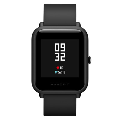 Nuovo Xiaomi Amazfit BIP A1608 GPS Heart Rate Super light weight Smartwatch Nero