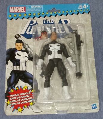 """The Punisher Marvel Legends Retro 6"""" Action Figure Hasbro New In The Package!"""