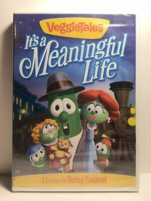 Veggietales It's A Meaningful Life (DVD,2010) Widescreen/Fullscreen Sealed NEW!