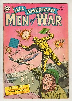 All-American Men Of War #14 (VG-) (1954, DC)