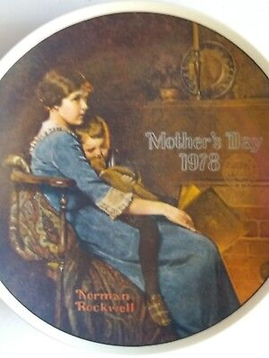 """""""Bedtime"""" A Knowles Collector's Plate-Norman Rockwell 1978"""