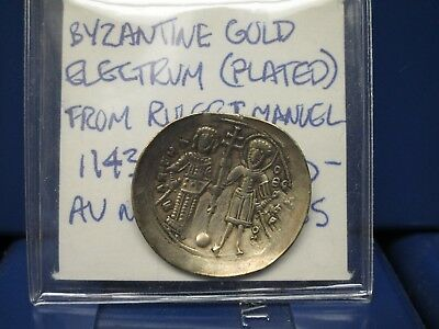 1118-1143 Ad Byzantine Empire Gold/electrum Au
