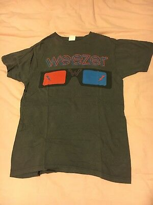 Weezer Glasses T-Shirt Size M Medium