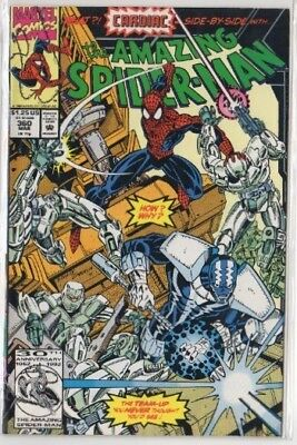 The Amazing Spider-Man #360 #361 #362 #363 (Apr 1992, Marvel)
