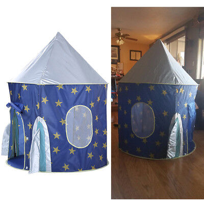 Play Tent Pink Princess Cute Castle Playhouse Indoor Outdoor Kid Children Toy 1X