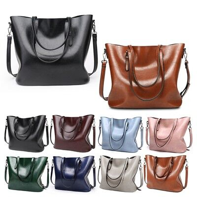 Women's Luxury Handbags Large Leather Purse Tote Shoulder Bag Crossbody Bags XU